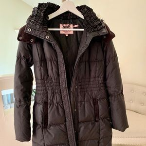 Juicy Couture Black Winter Jacket S